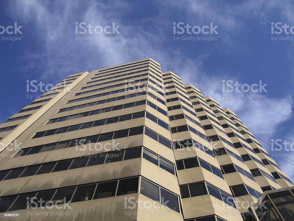 Yellow Hotel royalty-free stock photo