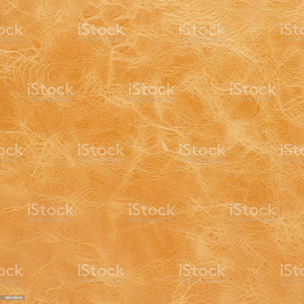 Yellow leather texture royalty-free stock photo