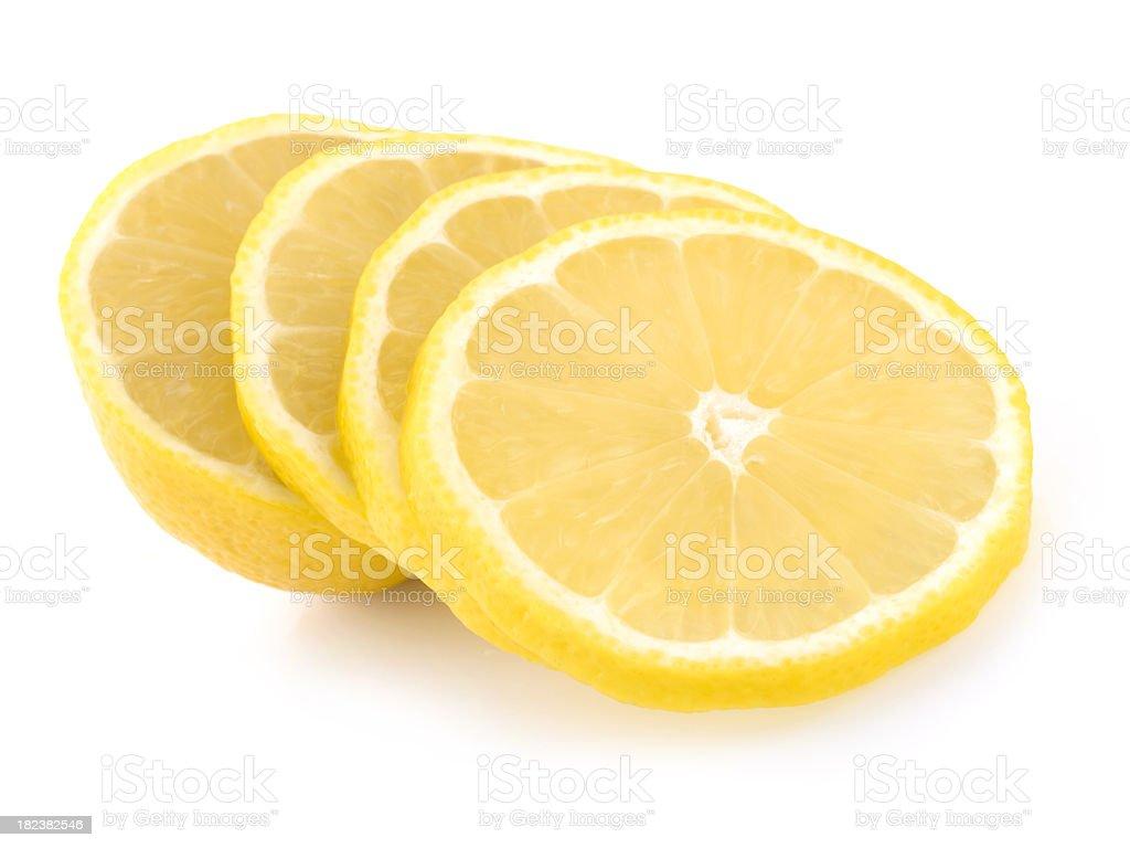 Yellow Lemons royalty-free stock photo