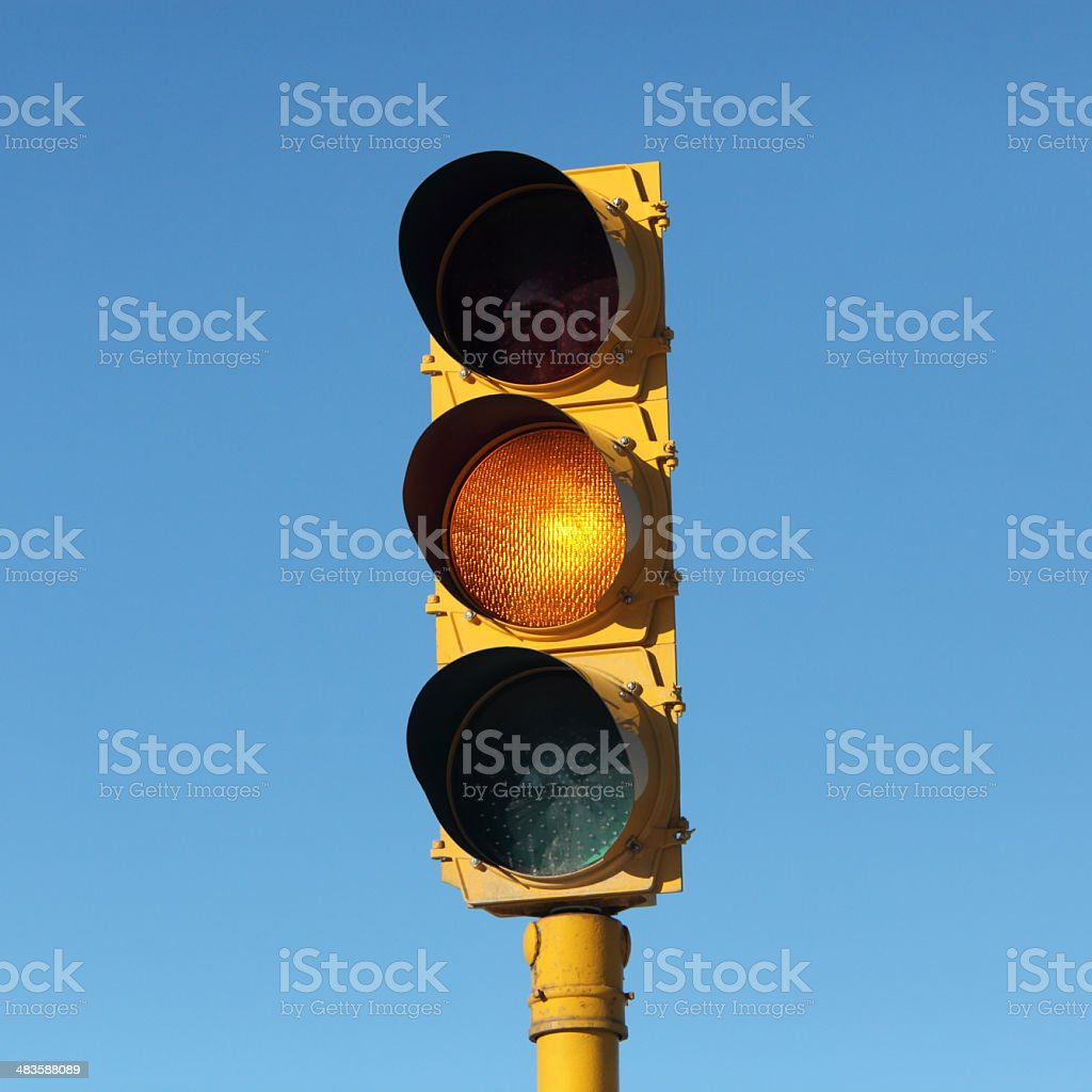 Yellow Light royalty-free stock photo