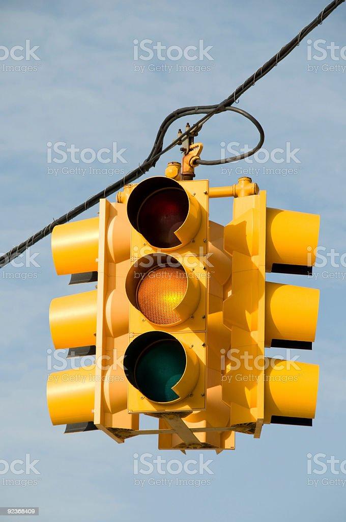 Yellow Light stock photo
