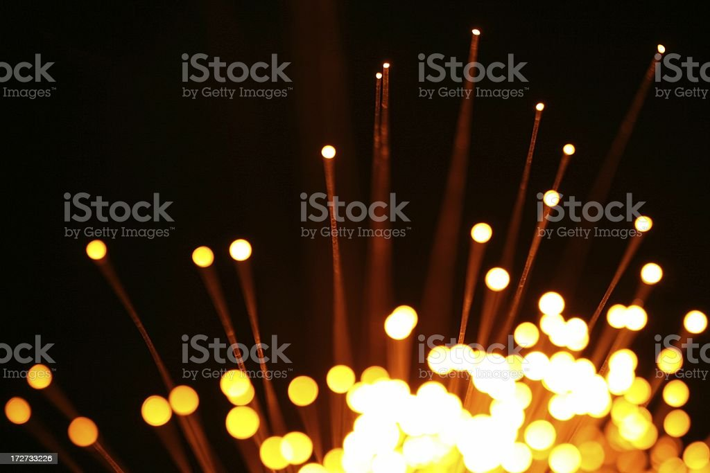 Yellow lights background royalty-free stock photo
