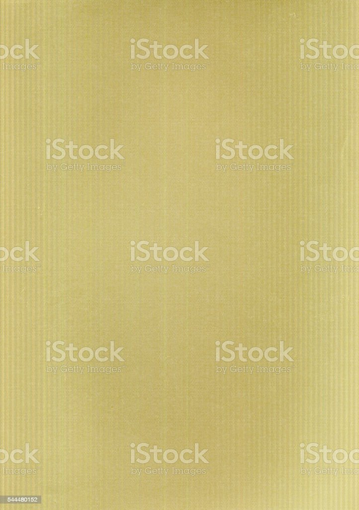 Yellow metallized paper texture for background stock photo