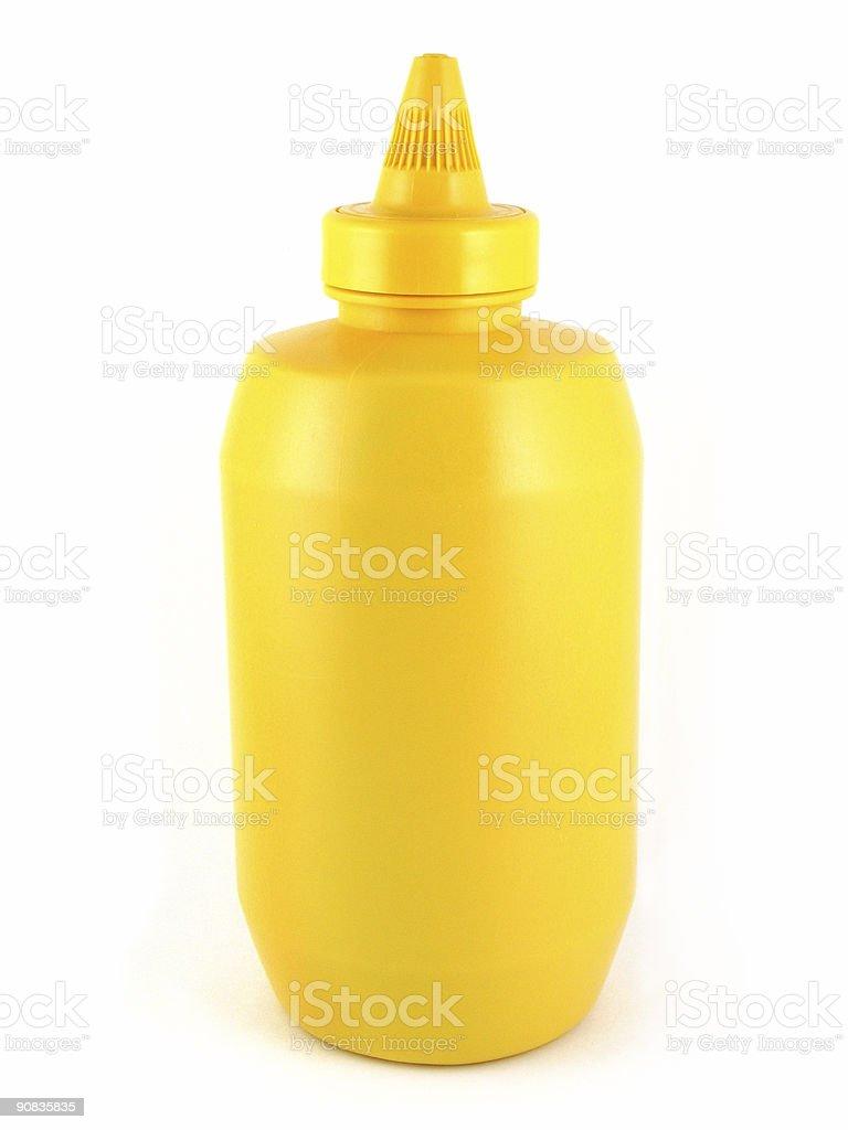 Yellow Mustard royalty-free stock photo
