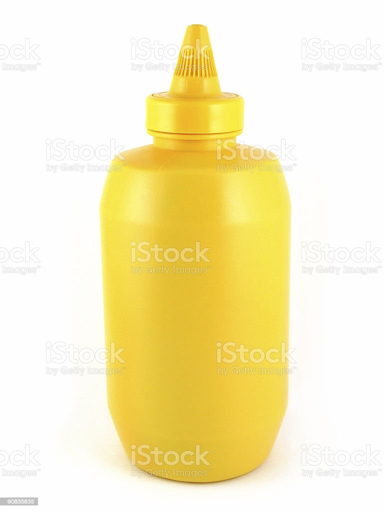 Yellow Mustard stock photo