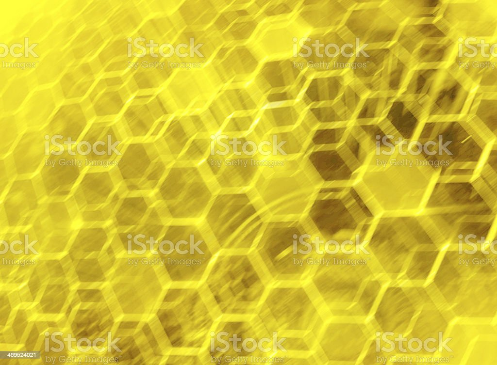 Yellow mystery science royalty-free stock photo