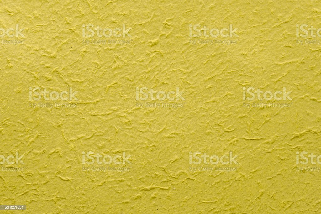 Yellow natural paper background royalty-free stock photo