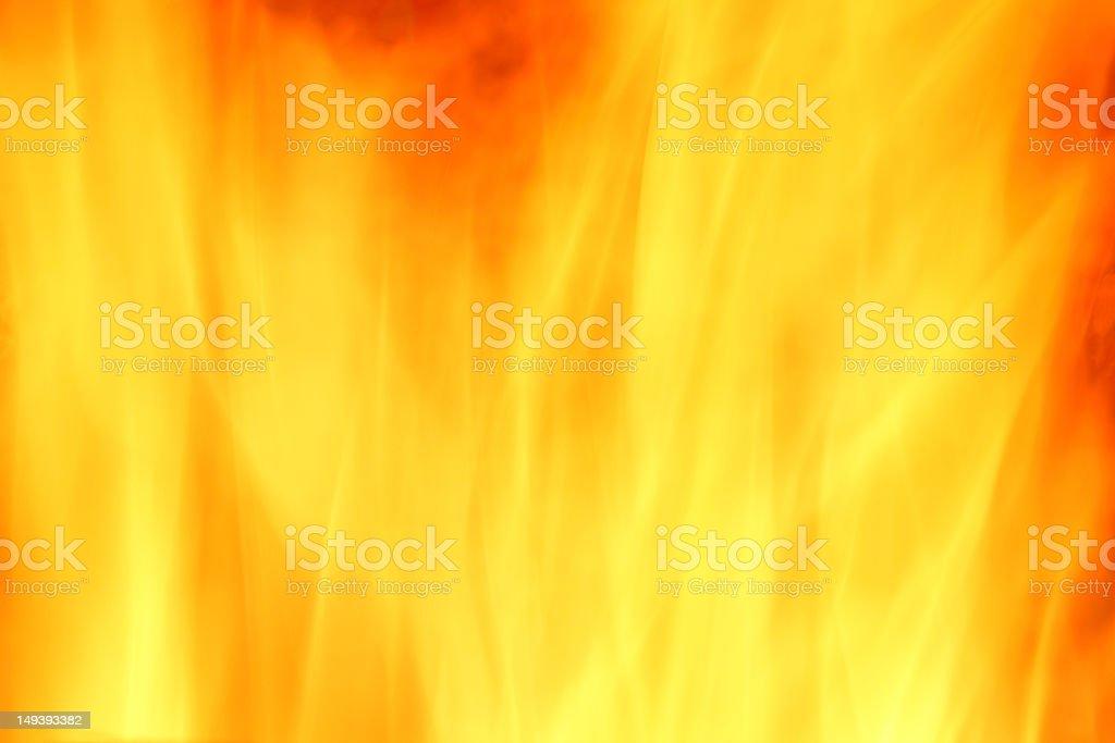 Yellow - orange background ( fire ) royalty-free stock photo