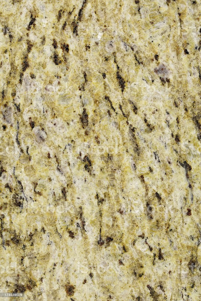 Giallo Ornamentale Granite stock photo