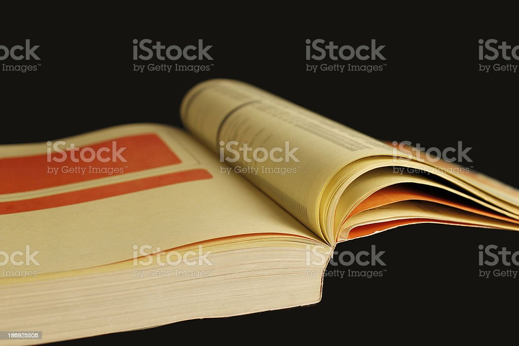 Yellow Pages royalty-free stock photo