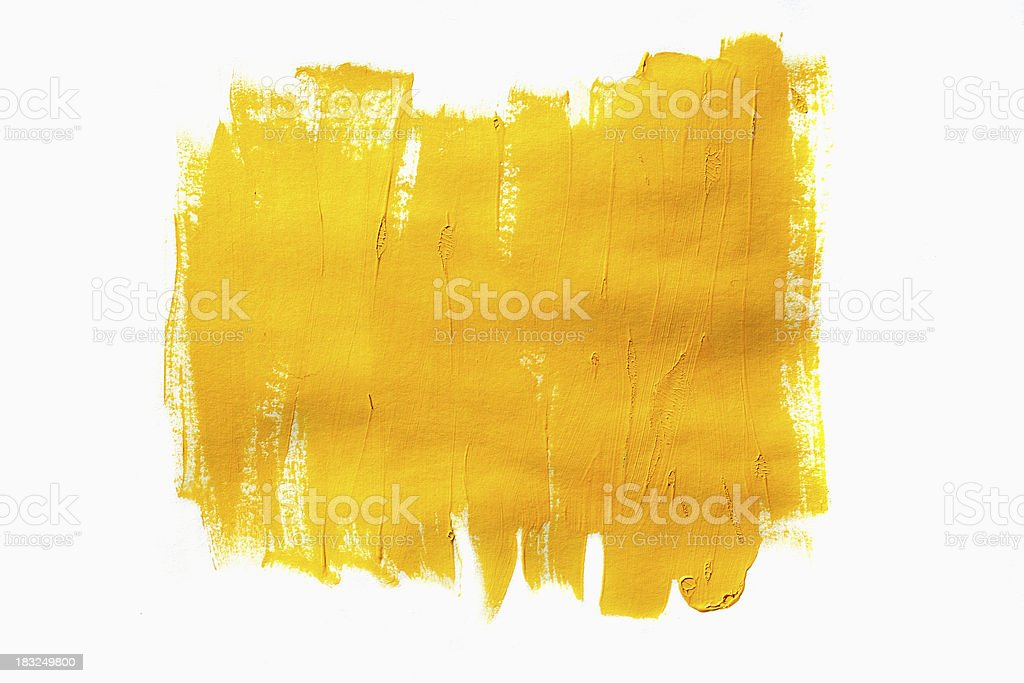 Yellow Paint stock photo