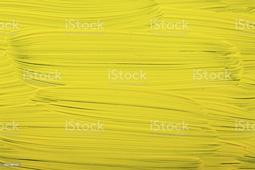 Yellow painted background royalty-free stock photo