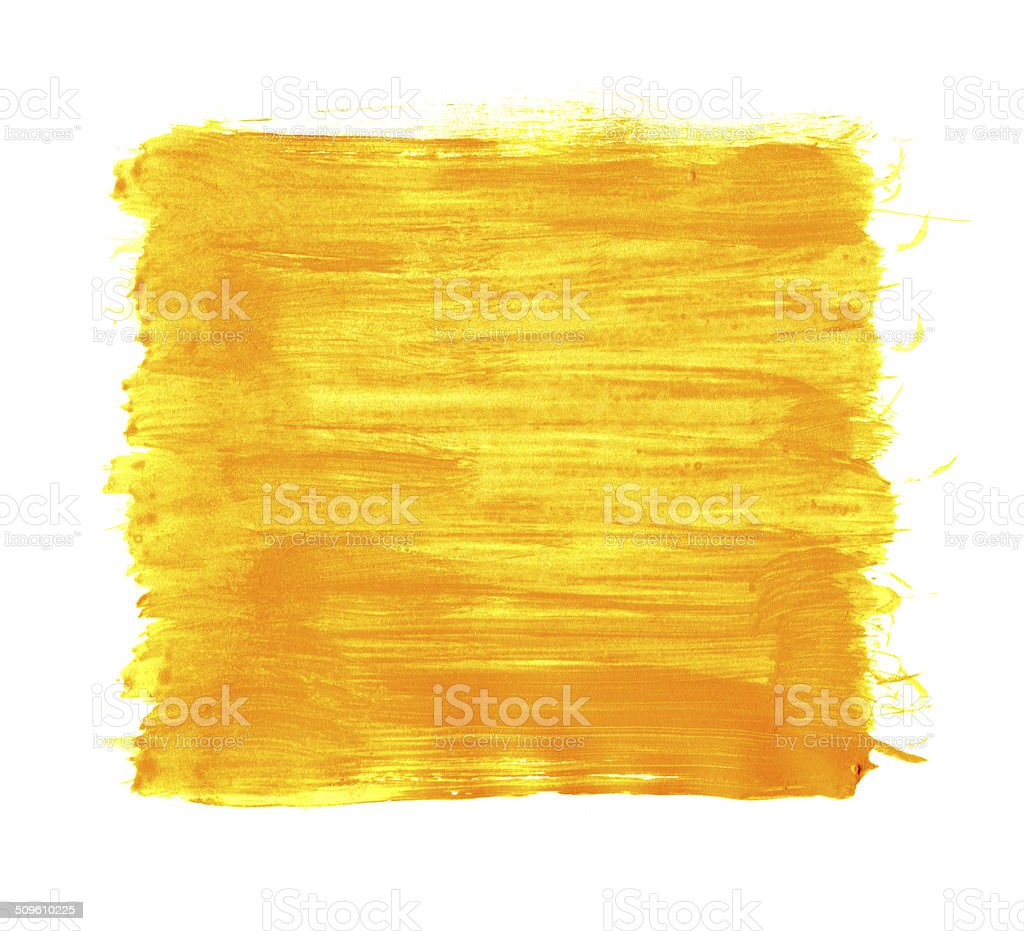 Yellow painted Image background textured stock photo