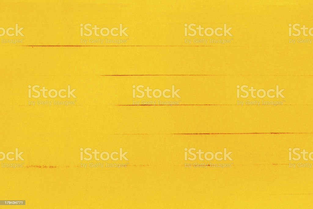 Yellow paper background royalty-free stock photo