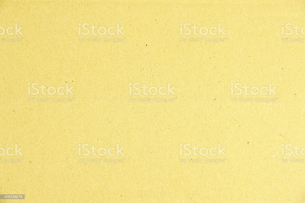 Yellow paper box texture. royalty-free stock photo