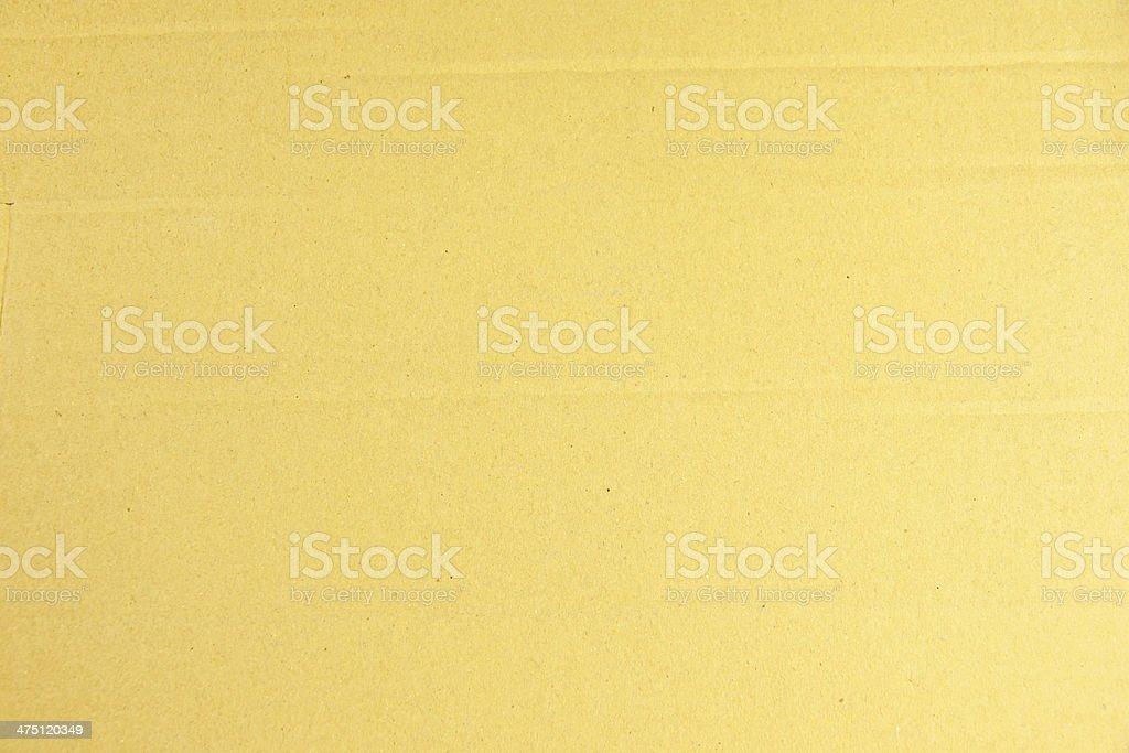 Yellow paper box texture. royalty-free stock photo
