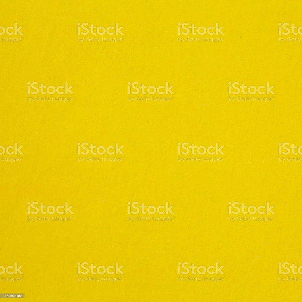 Yellow paper texture stock photo
