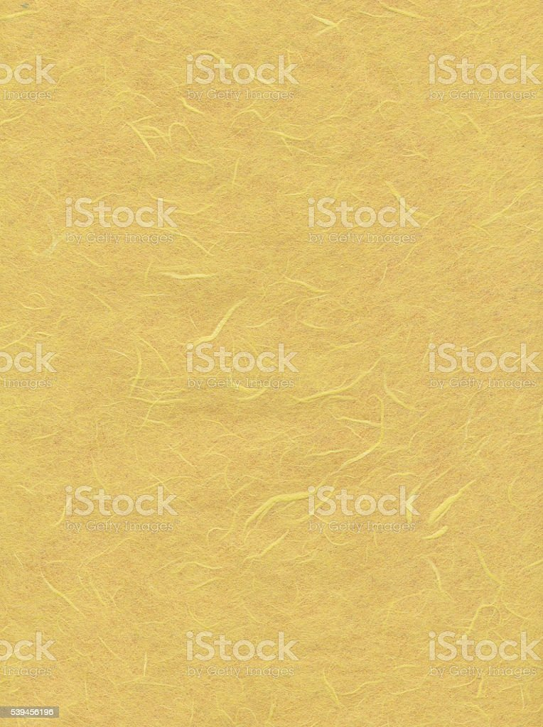 Yellow  paper with pattern stock photo