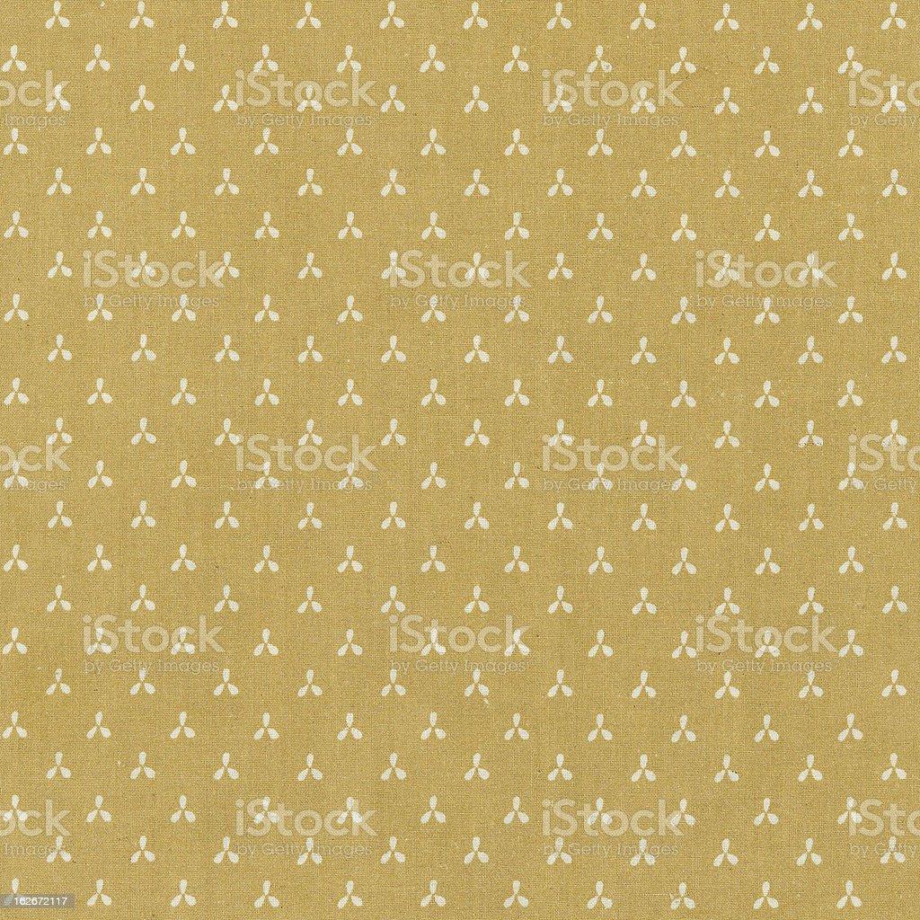 yellow pattern fabric royalty-free stock photo
