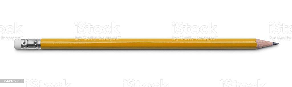 Yellow Pencil stock photo