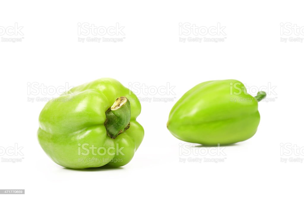 Yellow peppers. royalty-free stock photo