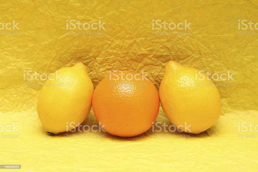 Yellow royalty-free stock photo
