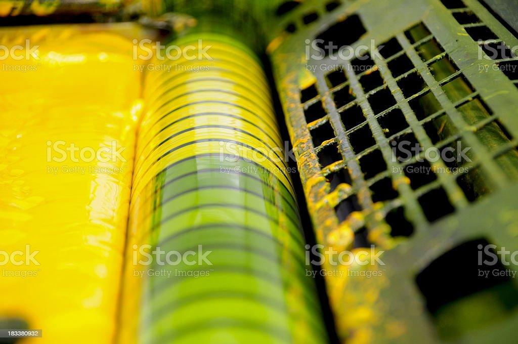 Y - Yellow stock photo