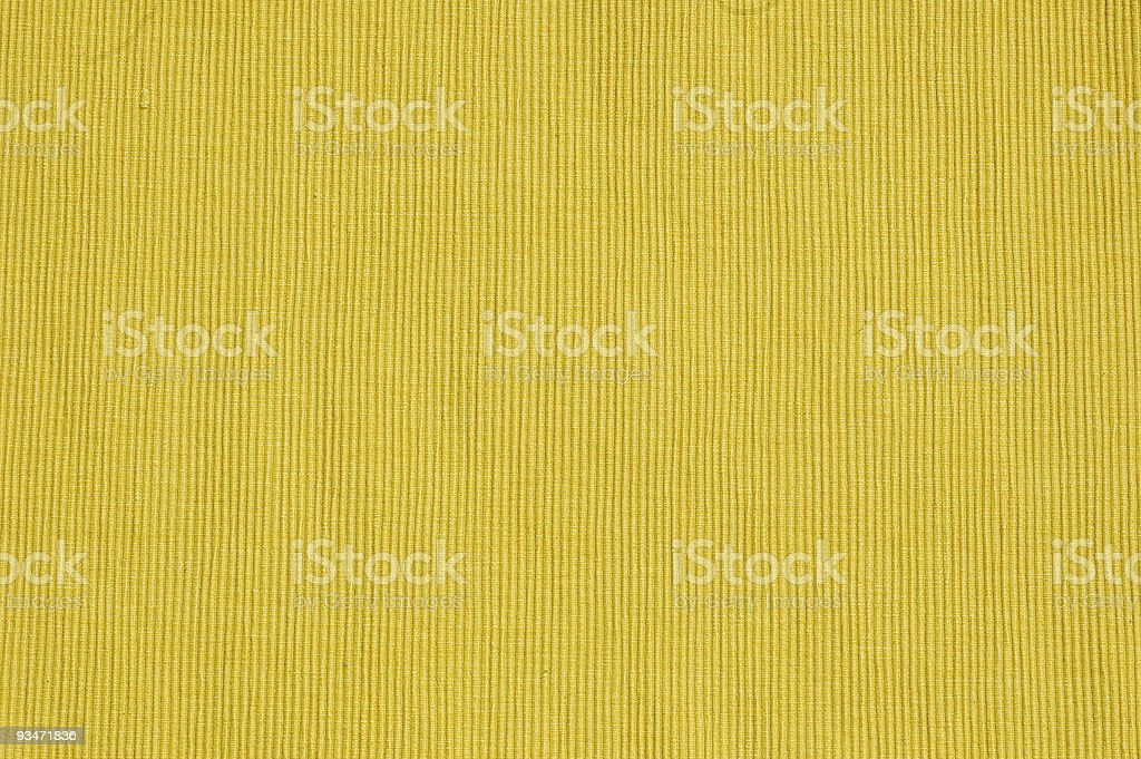 Yellow Place Mat stock photo
