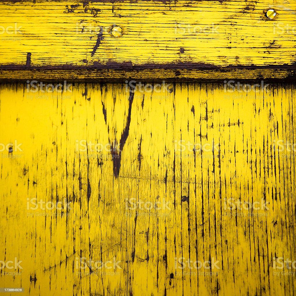yellow plank royalty-free stock photo