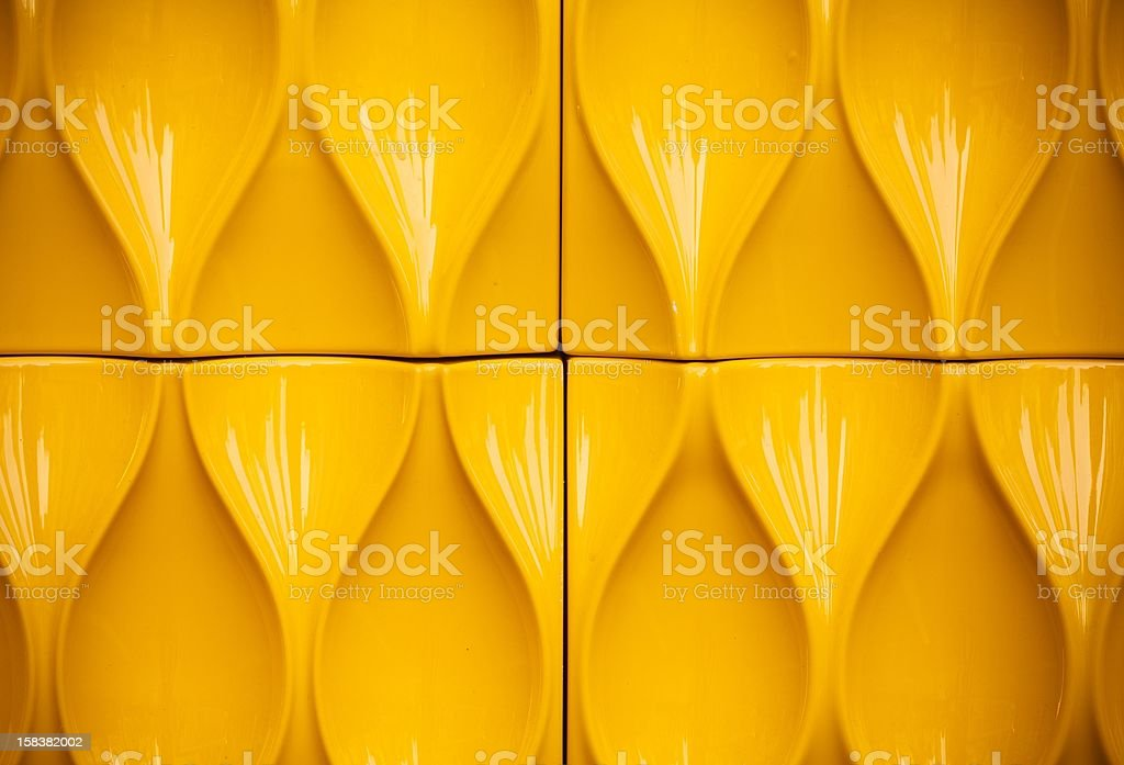 Yellow plastic construction background texture royalty-free stock photo