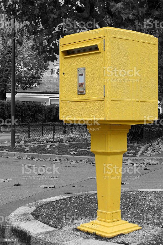 Gelbe Postfach-France – Foto