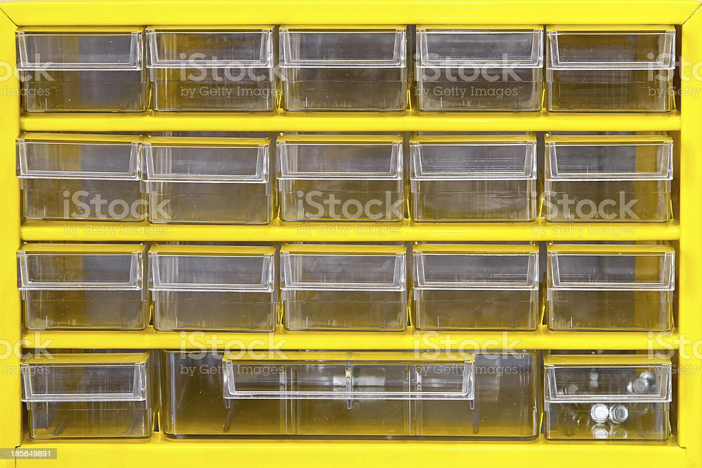 Yellow rack royalty-free stock photo