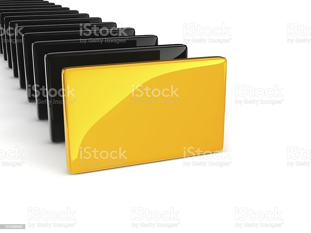 yellow rectangle royalty-free stock photo