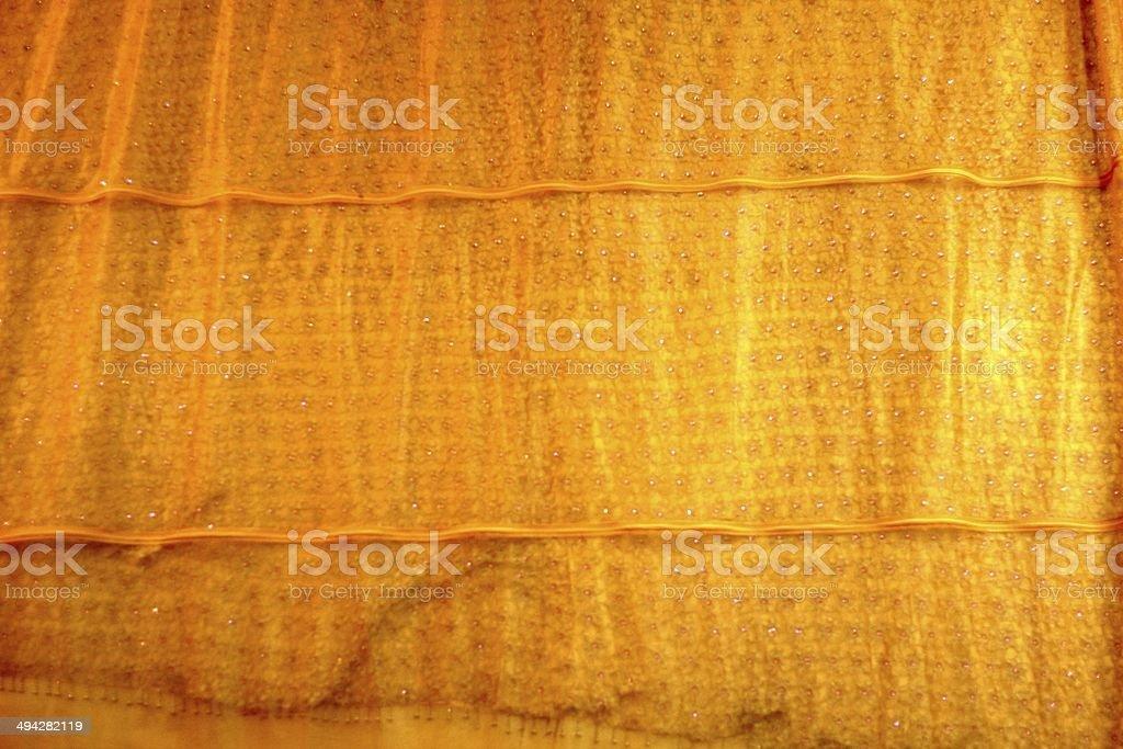 yellow robe royalty-free stock photo