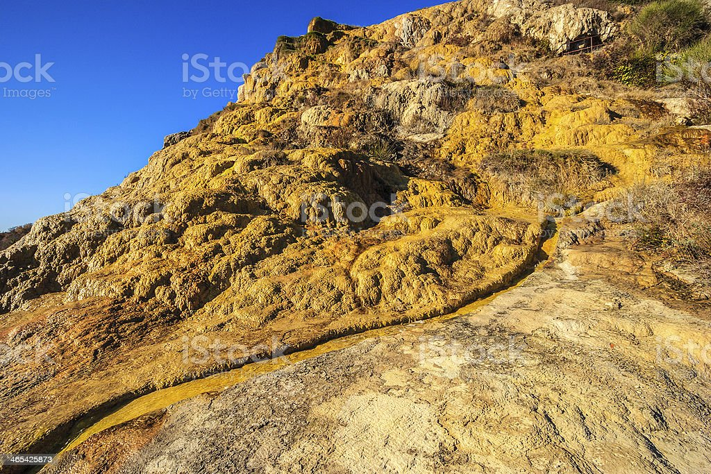 Yellow Rocks royalty-free stock photo