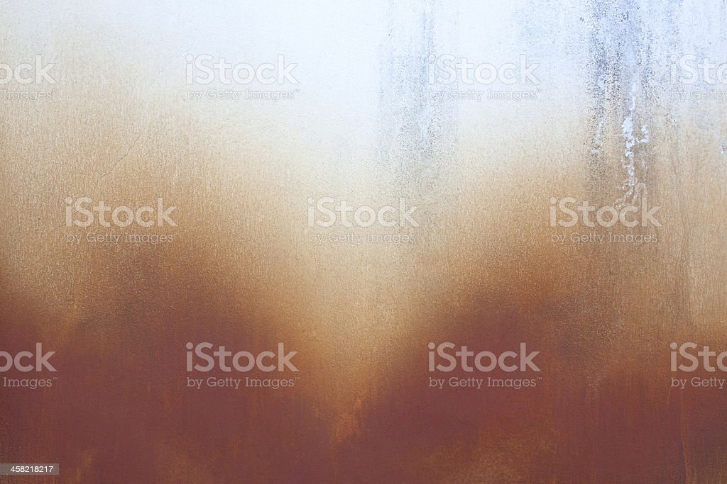 Yellow rust grunge old cement royalty-free stock photo