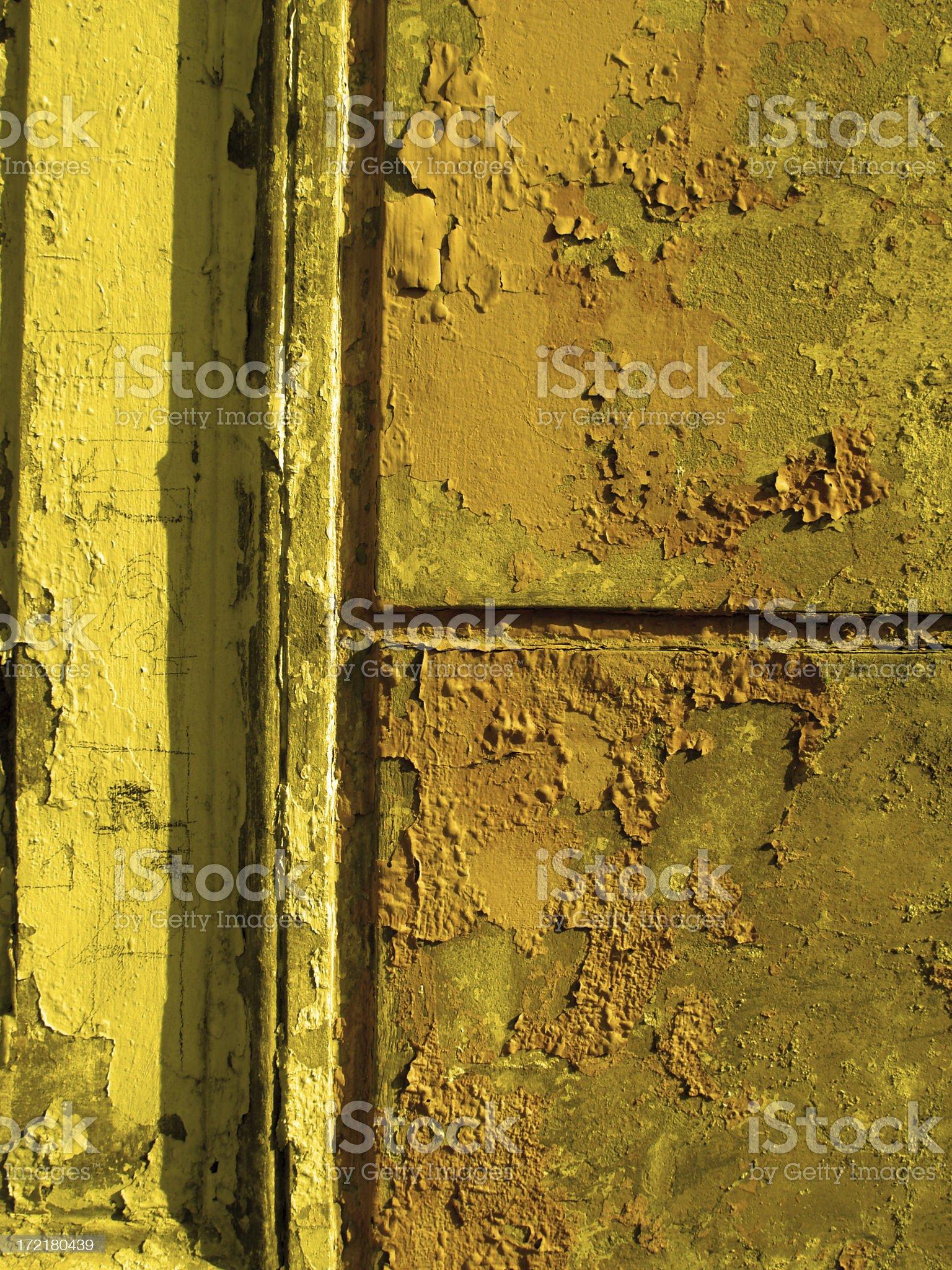Yellow Rustica. royalty-free stock photo