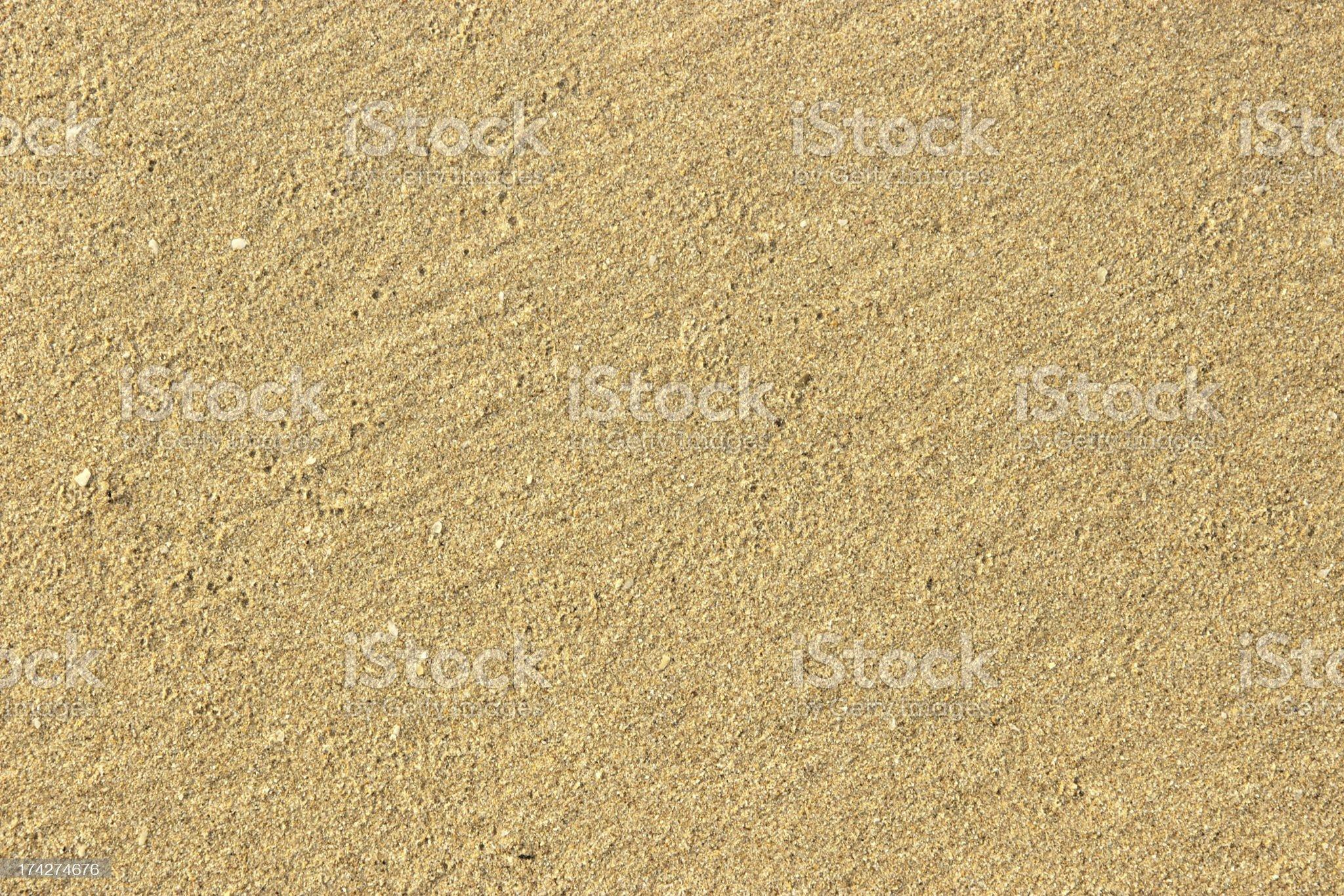 Yellow sand. Texture. royalty-free stock photo