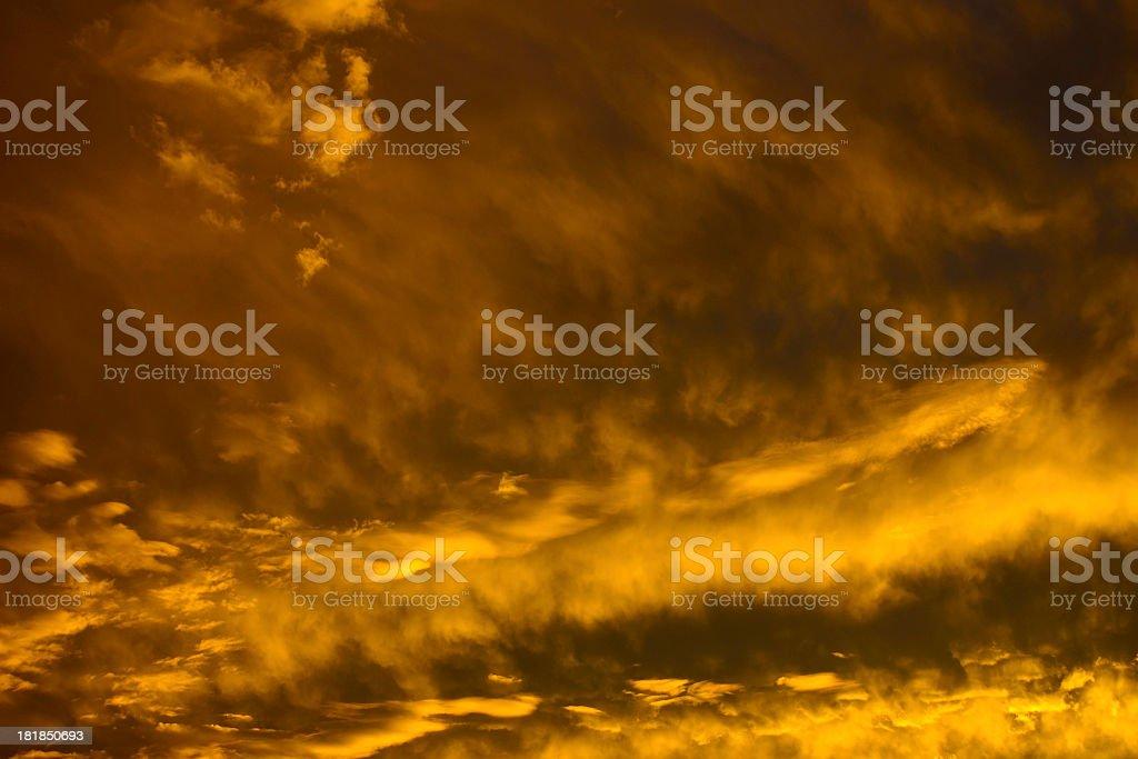 Yellow Sky royalty-free stock photo