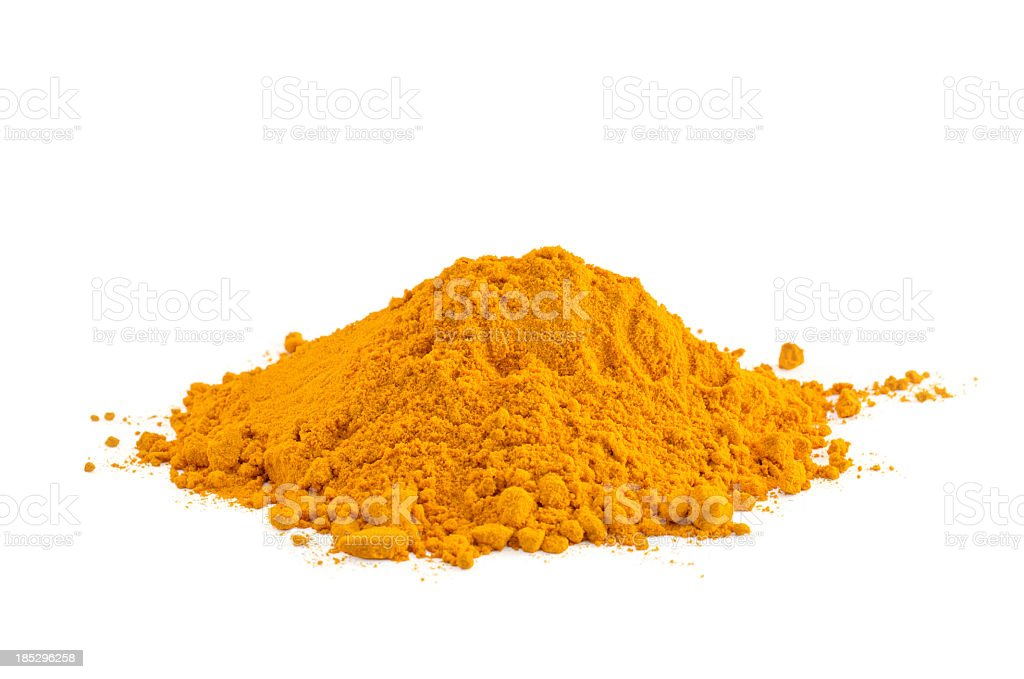 Yellow spice royalty-free stock photo