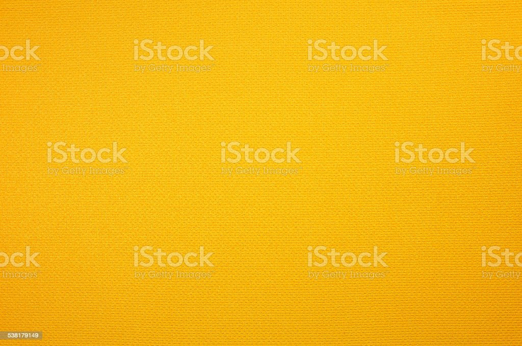 Yellow sport jersey clothing texture stock photo