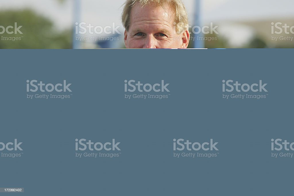 Yellow sports car side royalty-free stock photo