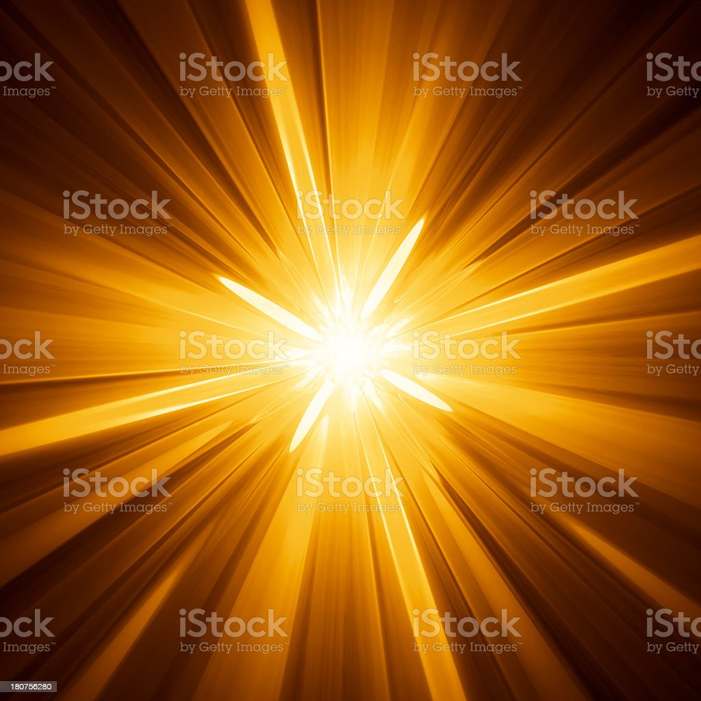 Yellow star background royalty-free stock photo