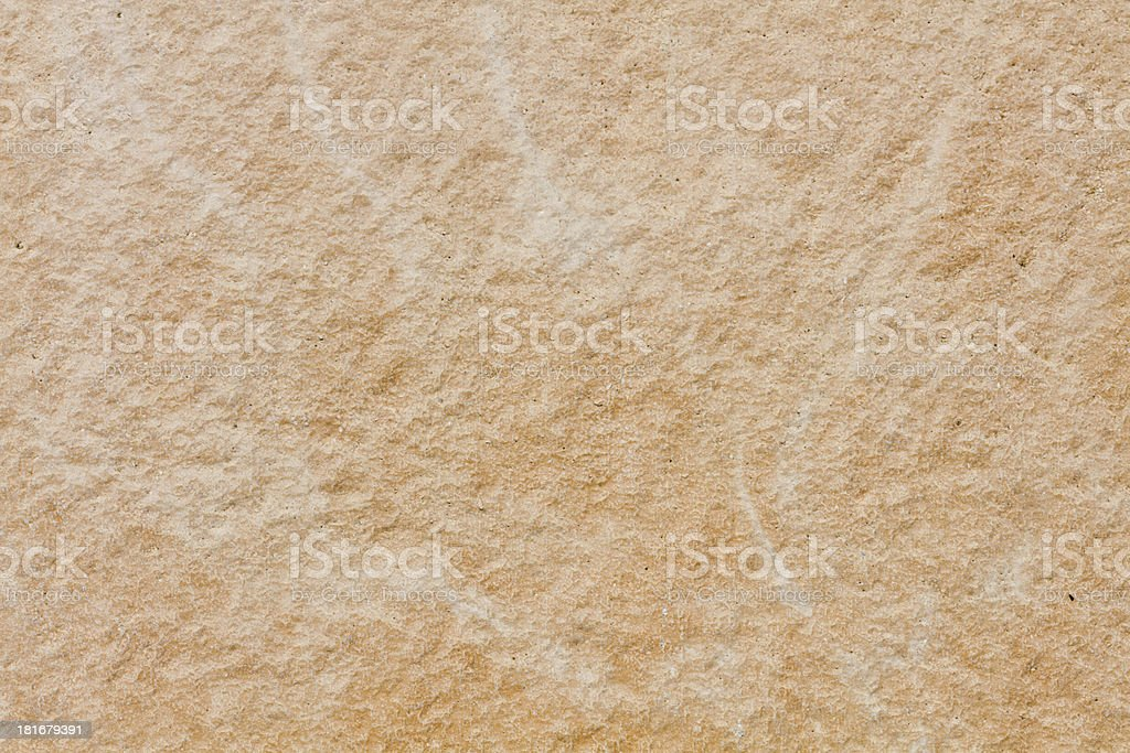 Yellow stone plate beamless with structure royalty-free stock photo