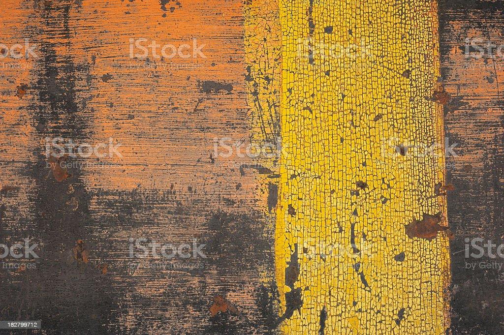 Yellow Stripe Background royalty-free stock photo