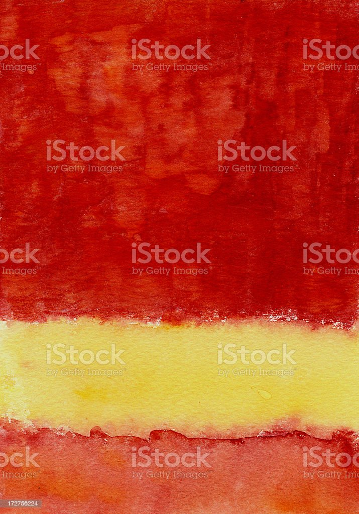 Yellow Stripe royalty-free stock photo