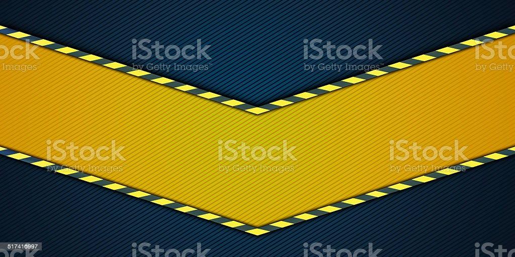 Yellow striped background stock photo