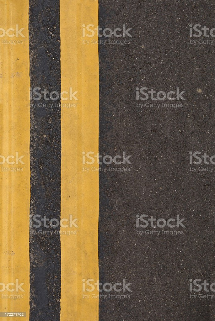 Yellow Stripes royalty-free stock photo