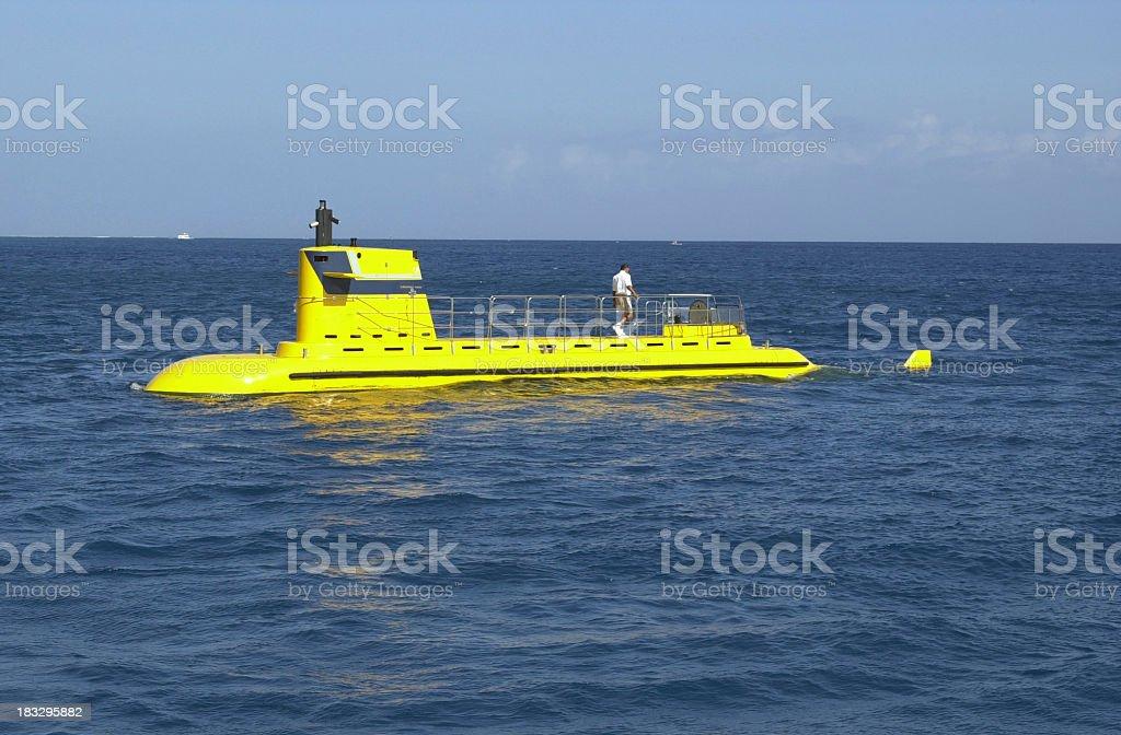 Yellow Submarine royalty-free stock photo