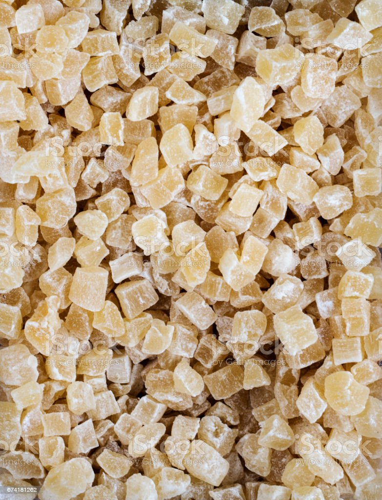 Yellow sugar Jelly candies stock photo